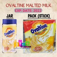 Ovaltine Malt Drink Powder Jar - Bubuk Gandum Malted Milk 400g Import