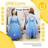 Fashion Kostum Anak Perempuan Dress Karakter Frozen 2 Elsa - 3