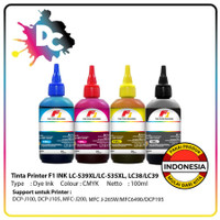 Tinta F1 Infus Refill / Isi Ulang Printer J100 100ml