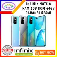 Infinix Note 8 6/64 RAM 6GB ROM 64GB GARANSI RESMI