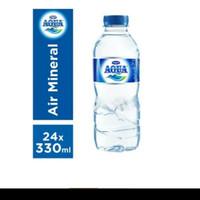 aqua botol mini 330 ml 1 dus 24 pcs