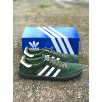 Sepatu Adidas Casual Pria Adidas Spezial Green Army