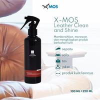 Pembersih bahan kulit Leather Clean and Shine X-MOS