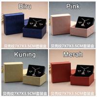 Jewelry Gift Box / Kotak Hadiah Tempat Perhiasan Kalung Anting Dll G13
