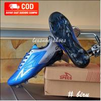 Sepatu sepak bola soccer specs accelerator satu elite - Biru, 42