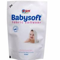 Yuri Babysoft Pewangi Pelembut Pakaian Bayi 410 ml Softener Baby
