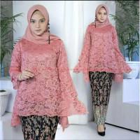 Kebaya rinjani burkat bianca baju wanita M L XL XXL XXXL