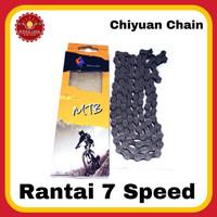 CHIYUAN CHAIN Rantai Sepeda 7 Speed