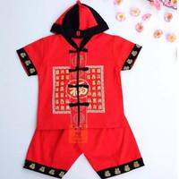 BM - Set Baju Imlek Anak Cowok Bayi Cowok CNY Lunar BCC