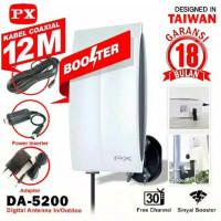 Antena TV Digital Booster indoor outdoor PX DA 5200