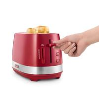 DeLonghi CTLA2103.R Toaster 2Slot Pemanggang Roti - Red