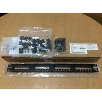 AMP Patch panel 24 port SL Series Cat6 / commscope Cat 6 24port ORI