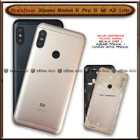 BackDoor Tutup Casing Belakang HP Xiaomi Redmi 6 Pro Mi A2 MiA2 Lite