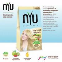 nyu natural bleach pewarna rambut termurah