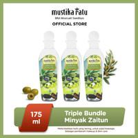 MUSTIKA RATU Triple Bundle Minyak Zaitun Perawatan kulit 175ml