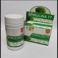Kapsul Spirulina 77 isi 60 Kapsul Bisa Untuk Masker wajah Anti Oksidan