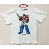 Kaos katun Transformer Universal Studios Singapore shirt adult size L