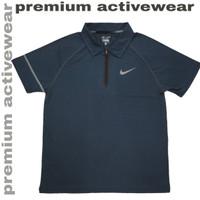 Kaos Kerah Polo Shirt Lengan Pendek Sport Olahraga 292A Dri Fit Import