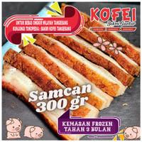 Samcan - Siobak - Crispy Pork belly (Frozen) 300gr Bakmi kofei