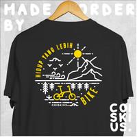 T-Shirt Hidup Bike by Coiskius