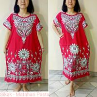 Batik Hengky - Sikak Matahari Pasta - Baju Daster Wanita Motif Batik