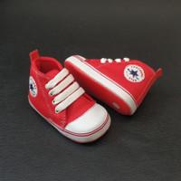 Prewalker Sepatu Bayi laki laki perempuan umur 2-15 bulan merah