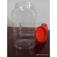 Toples Plastik uk. 4 liter / Tempat Kue / ikan Cupang / KHUSUS MEDAN