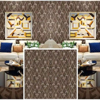 WALLPAPER WAJIK DAUN ELEGANT MOTIF NEW