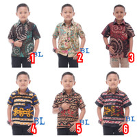 Kemeja Batik - Batik Anak - Fashion Anak - Baju Anak Laki Laki