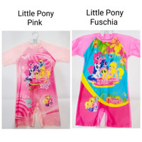 Prettiez Little Pony Kids Swim Wear - baju renang anak kuda poni