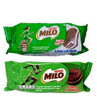 Milo Cookies Filled Chocolate Milk isi 4 34gr satuan