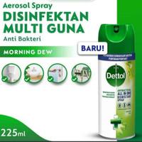 Dettol Spray Disinfectant Morning Dew 225 ml   Disinfectant Spray
