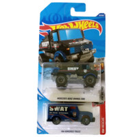 Hotwheels Treasure Hunt Reg Mercedes Benz Unimog 1300 & Armored Truck