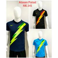 Baju Futsal Atasan Sepakbola Dewasa NK.141 - Biru, M