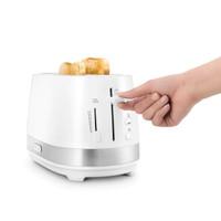 DeLonghi CTLA2103.W Toaster 2Slot Pemanggang Roti - White