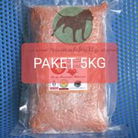 PAKET 5kg MeatLover Sosis Sapi Giling /Dog Food/CatFood/Makanan Anjing