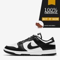DD1391-100 Sneakers Original Sepatu Nike Dunk Low Retro - White/Black