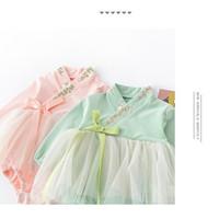 Baju Sincia Anak Bayi Perempuan / Jumper Dress Cheong Sam Imlek Bayi