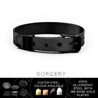 SORCERY Bracelet 18K REAL GOLD Gelang Anti Karat Pria Wanita VBRB