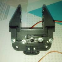 Gripper Arm Robot Arduino(sudah termasuk servo)