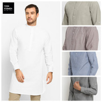 Baju Kurta Pakistan Koko Katun Premium Warna Oxford Pria Toraformen