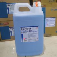 Aseptic Gel OneMed 5L (untuk Refill / Isi Ulang) Hand Sanitizer Gel