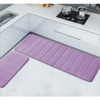 Memory Foam Mat SET Keset Kaki Rumah Dapur Pintu Kamar Anti Selip
