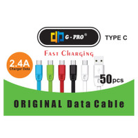 KABEL DATA USB TYPE - C SUPPORT FASTCHARGING AND VOOC