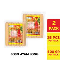 BOSS Sosis Ayam Long @ 15 Pcs 500 Gr Multipack