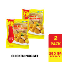 BOSS Nugget Ayam @ 250 Gr Multipack