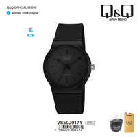 Q&Q QnQ QQ Original Jam Tangan Casual Analog - VS50 VS50J Rubber