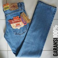 Celana Jeans Pria Lea 606 Original Standar - Bioblitz - Biru Muda, 30
