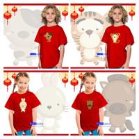 Kaos / Baju Shio Anak Dewasa Bayi / Baby Jumper Imlek Usia 1,2,3,4,5,6