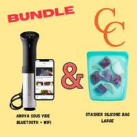 BUNDLE Anova Sous Vide + Stasher Silicone Bag